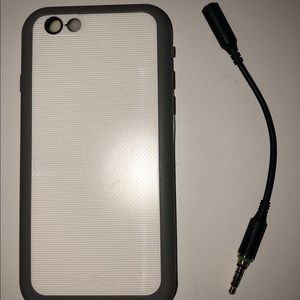 promo code 637b6 49a76 iphone 6 lifeproof case and headphone adapter